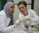 Training in laboratory techniques