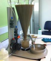 Extraction de nématodes par élutriation